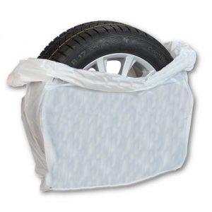 Kertakäyttöinen rengaspussi / Henkilöautot